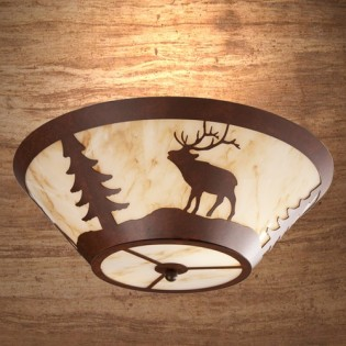 Elk Round Ceiling Light