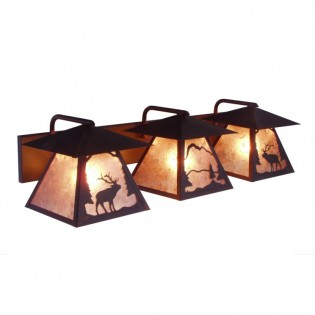 Elk Triple Vanity Light