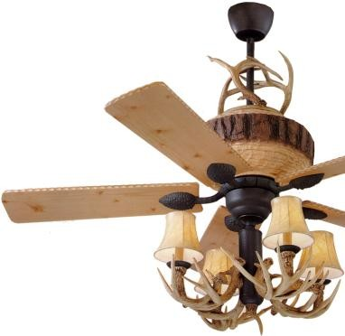Antler Ceiling Fan