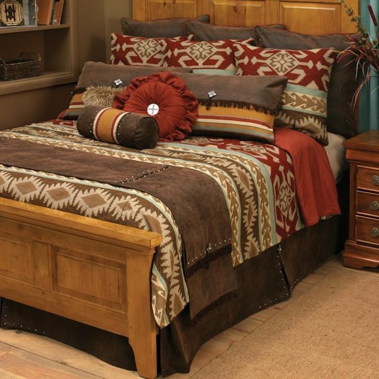 adobe vista western bedding