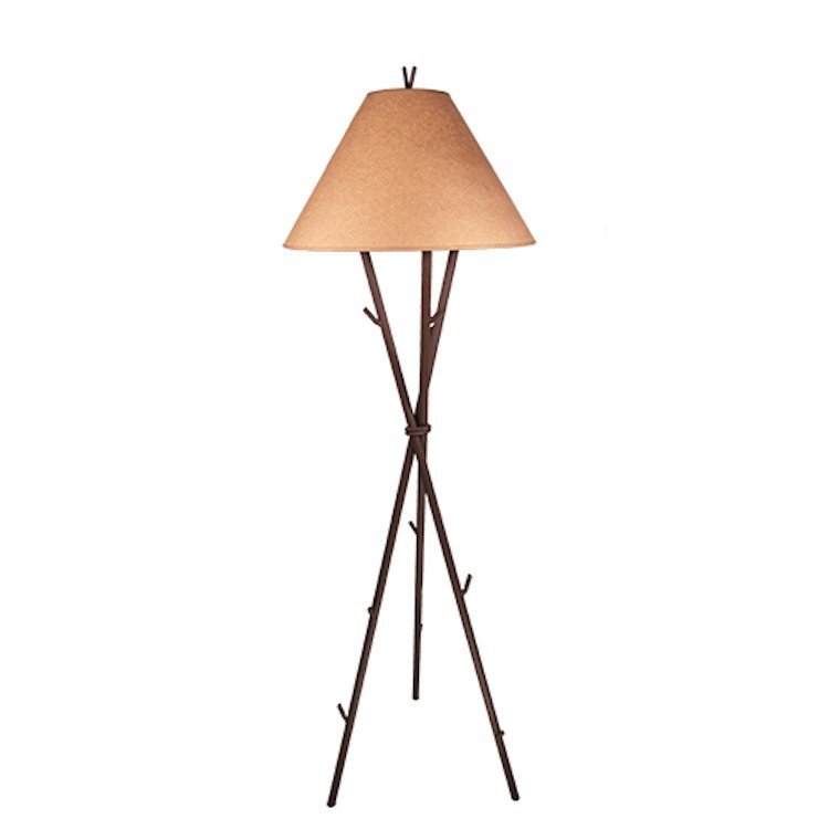 Gifford pinchot twig floor lamp for Floor lamp with twigs