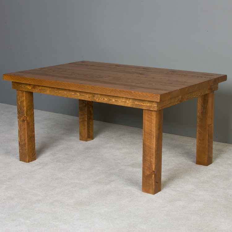 Barnwood dining room table