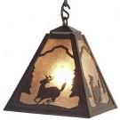 Timber Ridge Deer Pendant Light