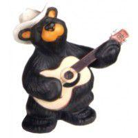 Mini Guitar Player Bear