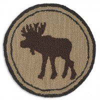 Tan Moose Chair Pad - Set of 4