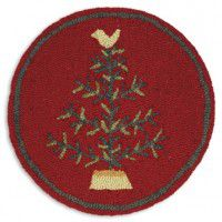 Feather Tree Chair Pad - Set of 4
