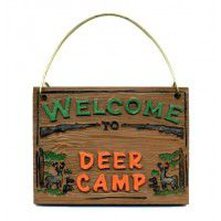 Deer Camp Ornament-CLEARANCE