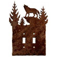 Wolf Light Switch Plates