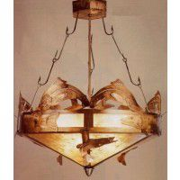 Catch of the Day Fish Chandelier