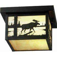 Square Moose Ceiling Light