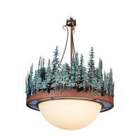Pine Forest Rustic Chandelier