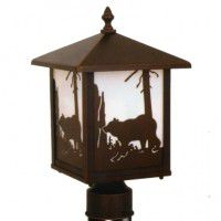 Yellowstone Bear Post Light