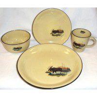 Scenic Moose Dinnerware