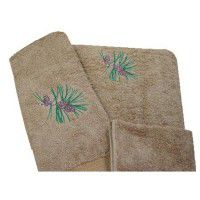 Pine Cone Towel Set-Toast