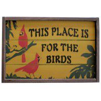 For the Birds Sign-CLEARANCE