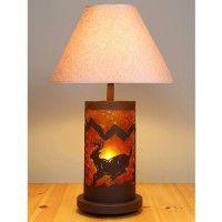 Cascade Mountain Deer Table Lamp