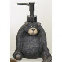 Big Country Sitting Bear Lotion Pump