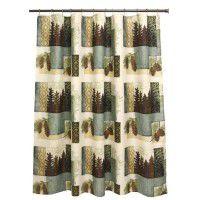 Westlake Pine Cone Shower Curtain