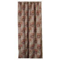 Elk Patchwork Shower Curtain