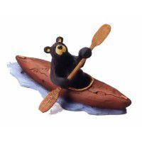 The Kayak Bear Figurine