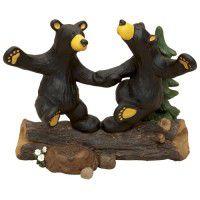Dancing Bears Figurine