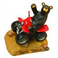 Happy Trails Bear Figurine