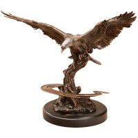 Strength and Beauty - Eagle Sculpture