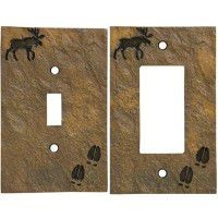 Moose & Tracks Switch Plates