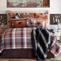 Grand Teton Plaid Comforter Sets