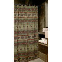 Heartland Prairie Bear Shower Curtain