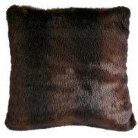 Faux Bear Fur Pillow
