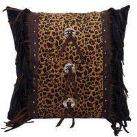 Leopard Concho Pillow