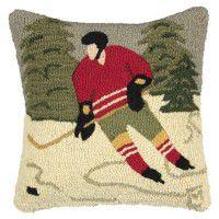 Pond Hockey Pillow