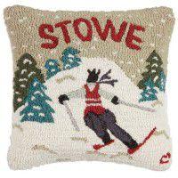 Stowe Skiing Pillow