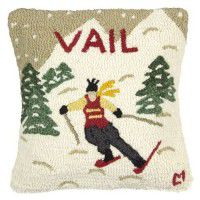 Ski Vail Pillow