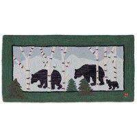 Birch Bears Wool Rug