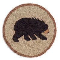 Vermont Bear Chair Pad - Set of 4
