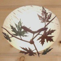 Maple Leaf Ceiling Light