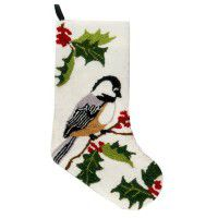Chickadee Stocking-CLEARANCE
