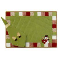 Snowplace Like Home Place Mat - Set of 4-CLEARANCE