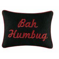 Bah Humbug Pillow-CLEARANCE