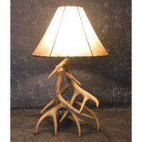 Woodland 3 Antler Table Lamp
