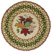 Autumn Leaves Chair Pad - Set of 4