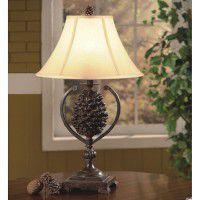 Pine Creek Pinecone Accent Lamp