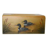 Loon Tissue Box Cover