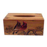 Cardinal Tissue Box Cover