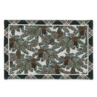 Pinecone Tapestry Table Linens - CLEARANCE