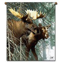 Forest King Moose Wall Hanging
