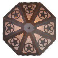 Texas Star Ceiling Light
