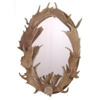 Fallow Deer Antler Mirror